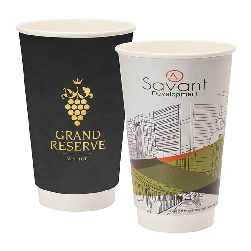 Order custom paper coffee cups