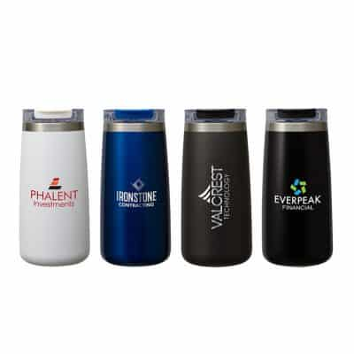 Perka Erie 16 oz. Dbl Wall Stainless Steel Tumbler